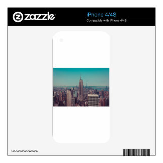 The Empire State Building Skin For The iPhone 4
