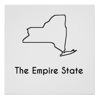 The Empire State Poster