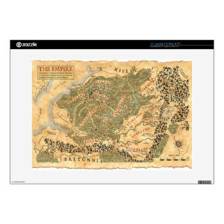 The Empire - World Map Laptop Decals