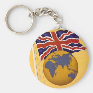 The Empire's Airline Basic Round Button Keychain