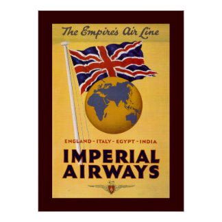 The Empire's Airline Poster