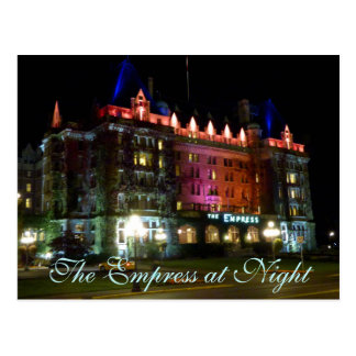 The Empress at Night Postcard