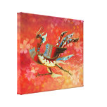 The Empress - Flight Of Phoenix - (Red Version) Canvas Print