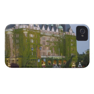 The Empress Hotel at the inner harbour in iPhone 4 Cover