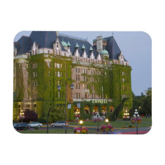 The Empress Hotel at the inner harbour in Magnet