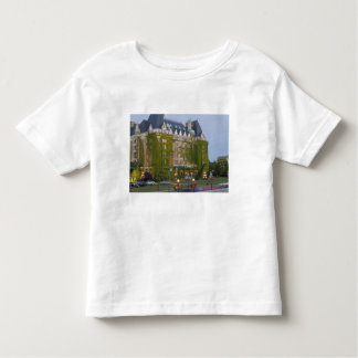The Empress Hotel at the inner harbour in Toddler T-shirt