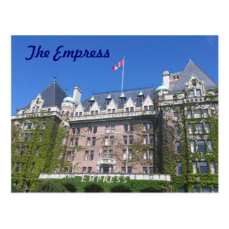 The Empress Hotel Postcard