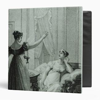 The Empress Josephine reveals the prophesy Vinyl Binders