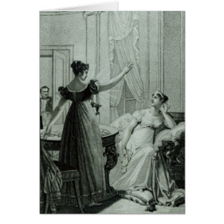 The Empress Josephine reveals the prophesy Cards