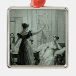 The Empress Josephine reveals the prophesy Metal Ornament