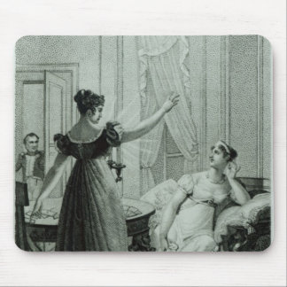The Empress Josephine reveals the prophesy Mouse Pad