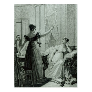 The Empress Josephine reveals the prophesy Post Cards