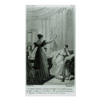 The Empress Josephine reveals the prophesy Poster