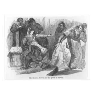 The Empress Matilda  and the Queen of Stephen Postcard