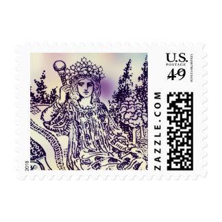 The Empress Stamp