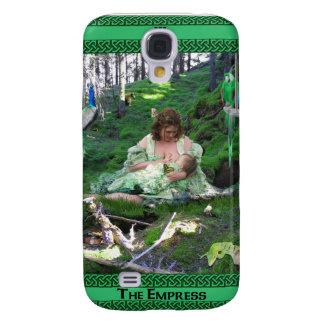 The Empress Tarot Card Art Samsung Galaxy S4 Cases