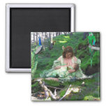 The Empress Tarot Card Art Fridge Magnet