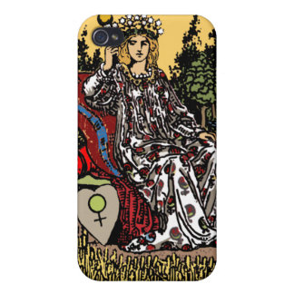 """The Empress"" Tarot Card iPhone4 Case"