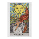 The Empress Tarot Card Poster Bold Brilliant Color