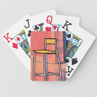 The Empty Chair playing cards