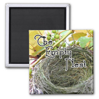 The Empty Nest 2 Inch Square Magnet