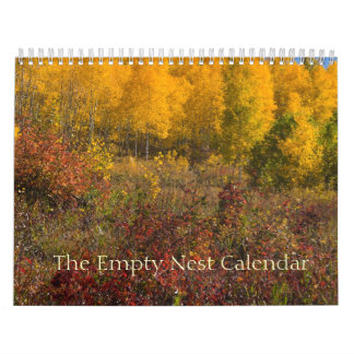 The Empty Nest Calendar Autumn Cover