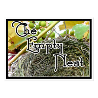 The Empty Nest Large Business Cards (Pack Of 100)