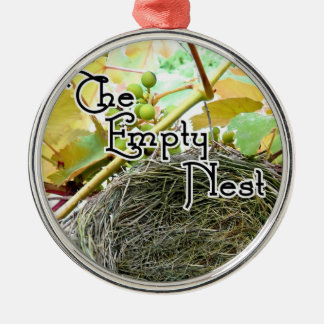 The Empty Nest Metal Ornament