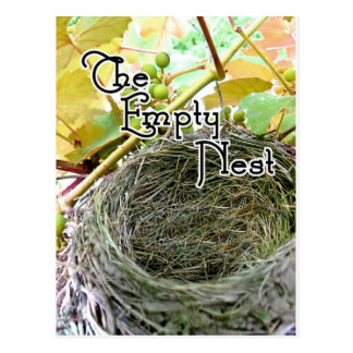 The Empty Nest Postcard