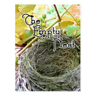 The Empty Nest Postcard