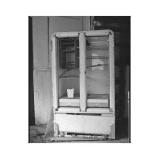 The Empty Refrigerator Canvas Print