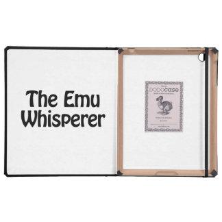 the emu whisperer case for iPad