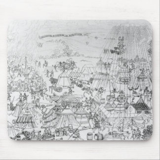 The Encampment of King Henry VIII at Marquison Mouse Pad