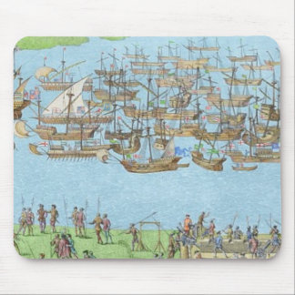 The Encampment of the English Forces Mouse Pad