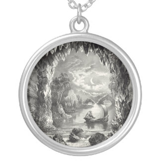 The Enchanted Cave Silver Plated Necklace
