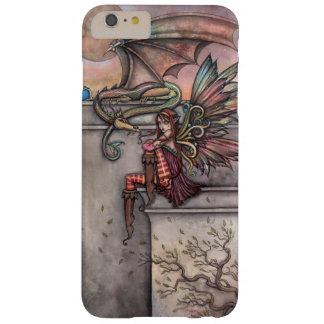 The Enchanted Fairy and Dragon Fantasy Art Barely There iPhone 6 Plus Case