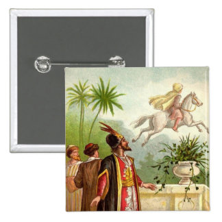 The Enchanted Horse Scheherazade's Tale Buttons