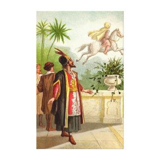 The Enchanted Horse Scheherazade's Tale Canvas Print