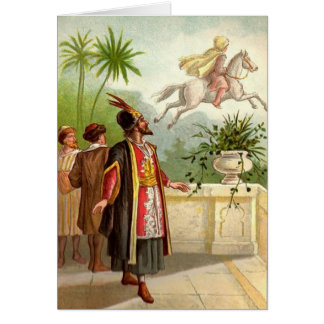 The Enchanted Horse Scheherazade's Tale Greeting Card