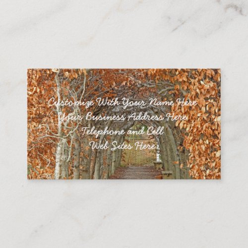 The Enchanted Path Business Card