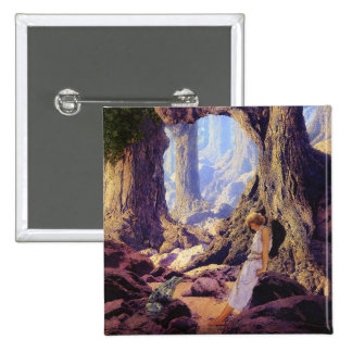 The Enchanted Prince- Maxfield Parrish Pinback Button