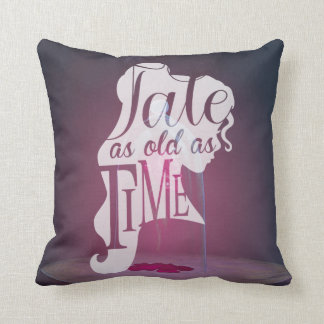 The Enchanted Rose | Tale As Old As Time Throw Pillow