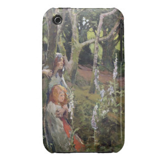 The Enchanted Wood (oil on canvas) iPhone 3 Case-Mate Case