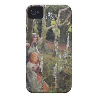 The Enchanted Wood (oil on canvas) iPhone 4 Cover