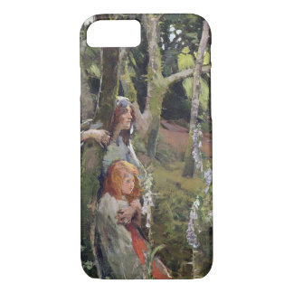 The Enchanted Wood (oil on canvas) iPhone 7 Case