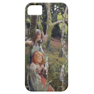 The Enchanted Wood (oil on canvas) iPhone SE/5/5s Case