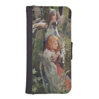 The Enchanted Wood (oil on canvas) iPhone SE/5/5s Wallet Case