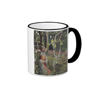 The Enchanted Wood (oil on canvas) Coffee Mug