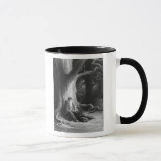 The Enchanter Merlin and the Fairy Vivien Mug