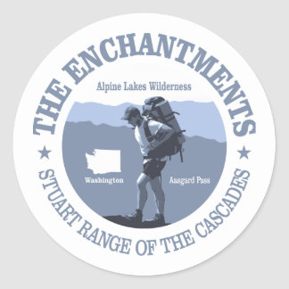 The Enchantments (rd) Classic Round Sticker
